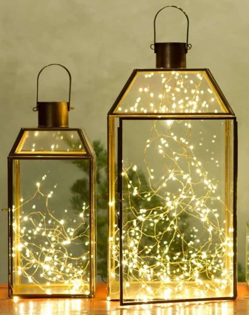 vianočné svetielka
