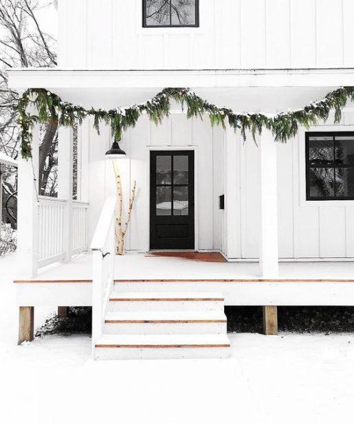 vianočný dekor exteriéru