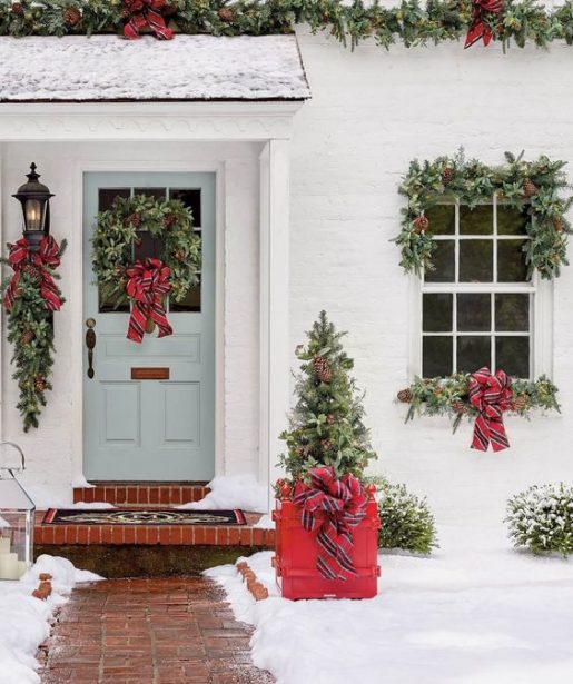 vianočný dekor príbytkov