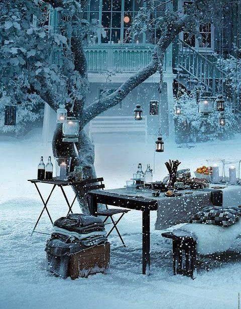 vianočný exterier