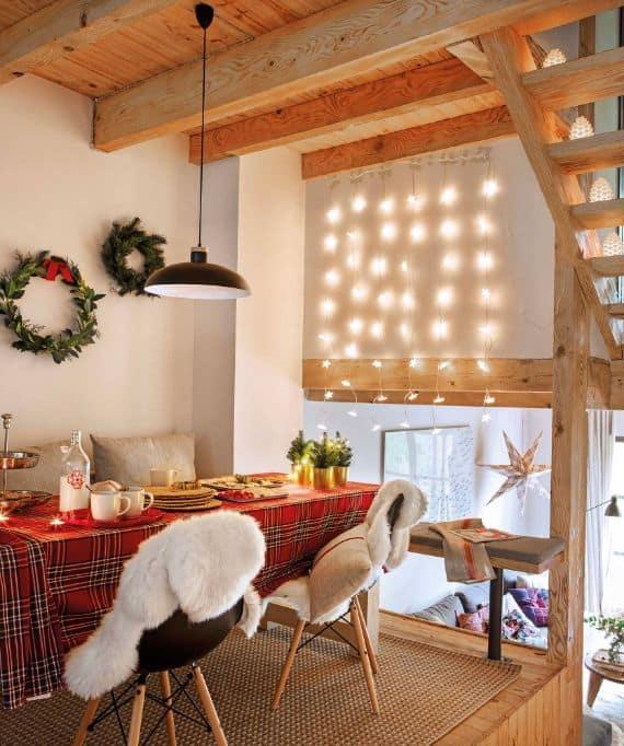 vianočný stôl vo svete