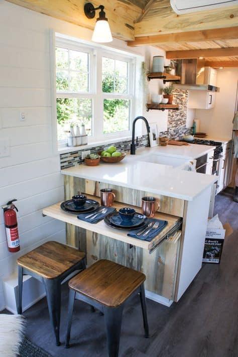 Mini kútik v kuchyni