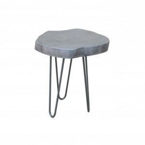 Konferenčný stolík Goa 43cm agát sivá