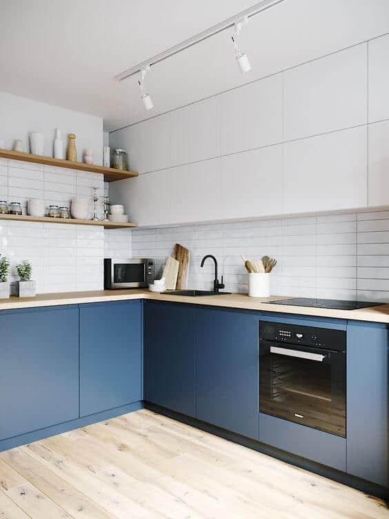 bielo-modra kuchyna
