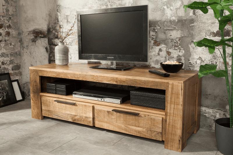 hnedy tv stolik