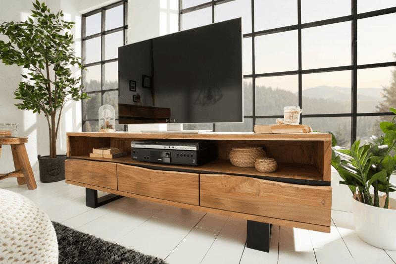 industrialny tv stolik