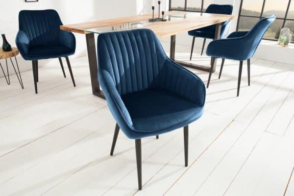 modra jedalenska stolicka