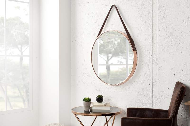 okrúhle zrkadlo Venice
