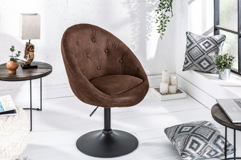 otočná stolička Couture v anglickom štýle