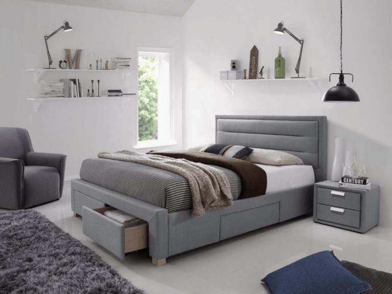 postel s uloznym priestorom