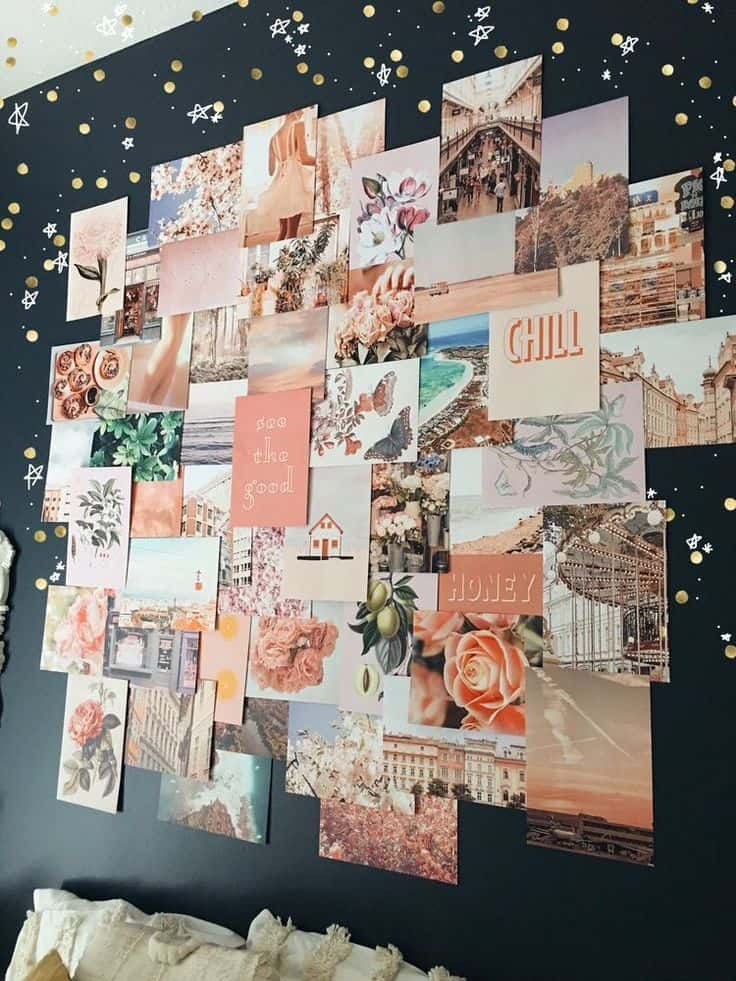 stena s fotkami