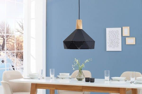 Závesná lampa Scandinavia II čierna