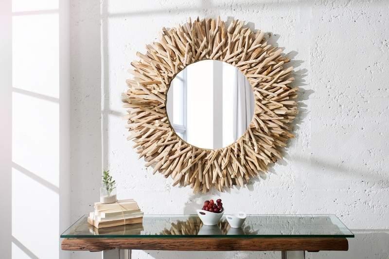zrkadlo Riverside z naplaveného dreva