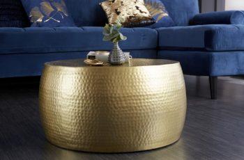 Couchtisch Orient II 60cm gold