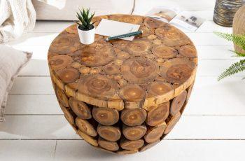 Couchtisch Pure Nature 50cm Teak