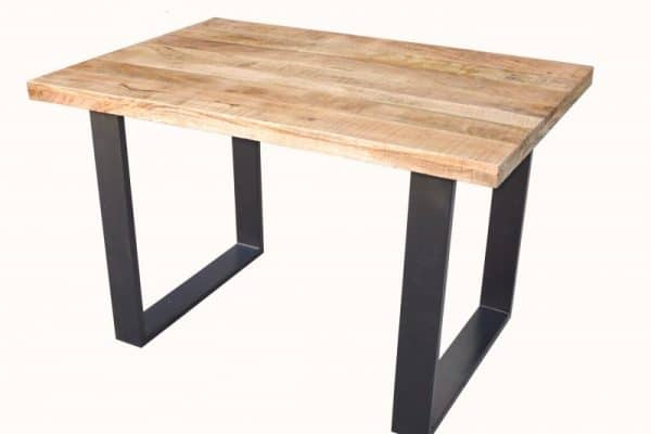 Jedálenský stôl Iron Craft 120cm Mango 45mm