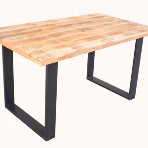 Jedálenský stôl Iron Craft 140cm Mango 45mm