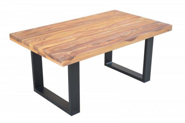 Konferenčný stolík Iron Craft 100cm sheesham 45mm