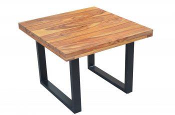 Konferenčný stolík Iron Craft 60cm sheesham 45mm