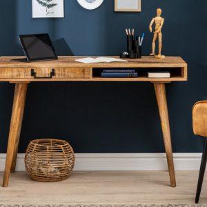 Písací stôl Retro 120cm Mango