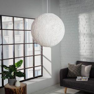 Závesná lampa Cocooning M biela 35cm
