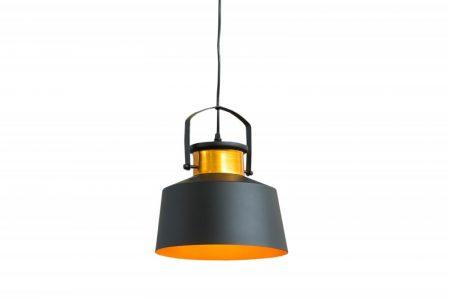 B-Závesná lampa Luz I čiernozlatá- 37698B