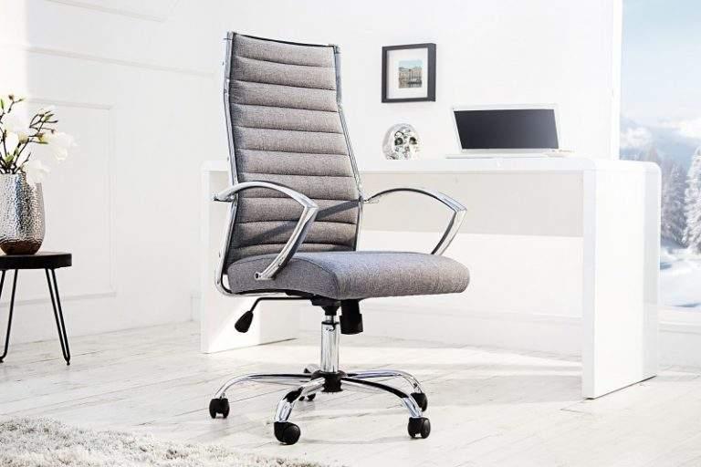Kancelárska stolička Big Deal je dokonalým príkladom spojenia elegancie, luxusu a minimalizmu. Zdroj: iKuchyne!