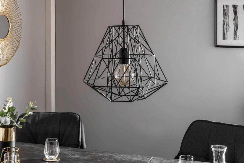 lampa v industriálnom štýle