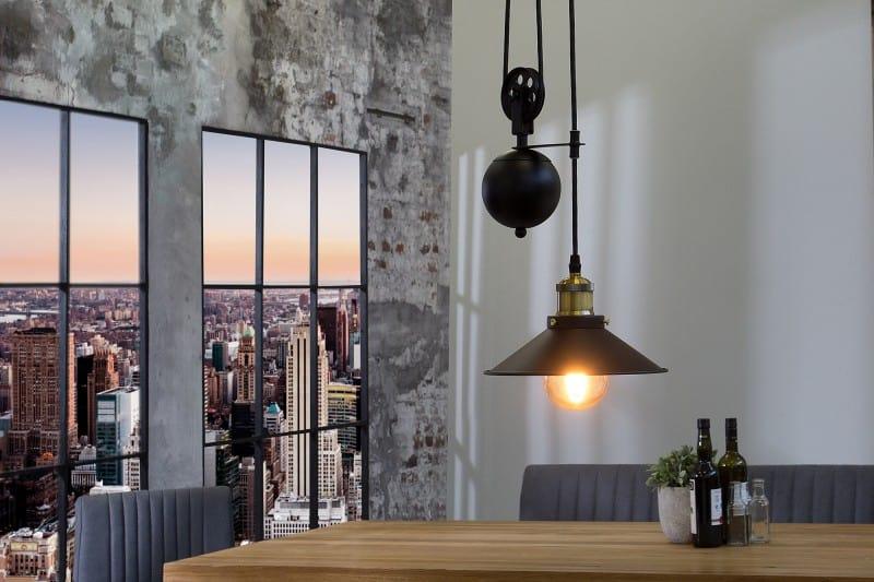 lampa v industrialnom style