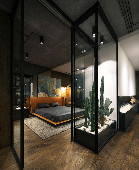 moderny pansky interier