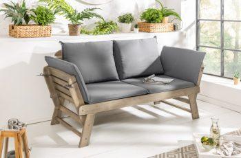 Garten-Lavica Modular 152cm agát sivá