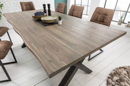 Drevený jedálenský stôl Genesis 90 x 160 cm – 35 mm