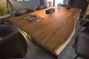 Jedálenský stôl Mammut 140cm Wild-agát 26mm