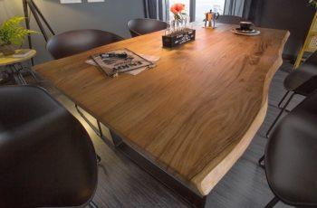 Jedálenský stôl Mammut 180cm Wild-agát 26mm