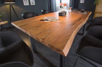 Jedálenský stôl Mammut 200cm Wild-agát 35mm
