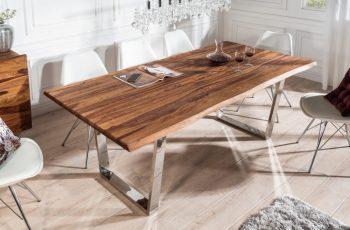 Jedálenský stôl Mammut 200cm sheesham 35mm