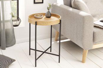 Konferenčný stolík Elements 43cm dub stolík (podnos)