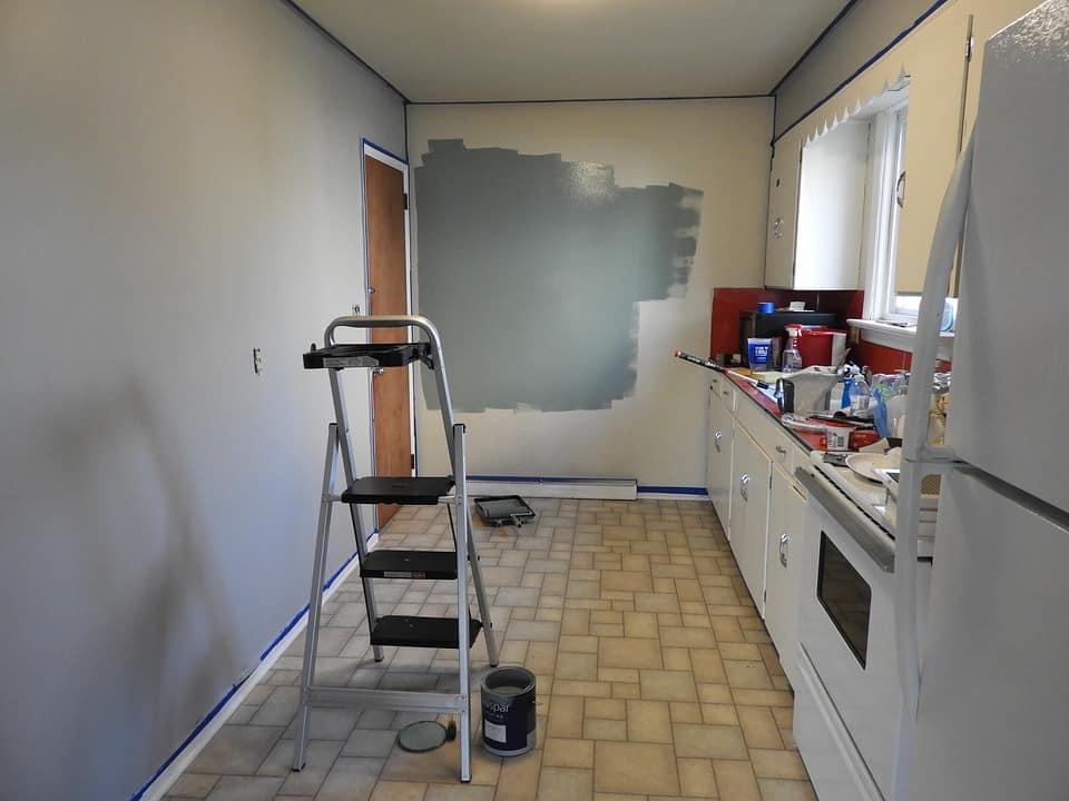 Prestavba kuchyne