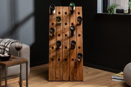 Regál na víno Hemingway 107cm recyklované drevo