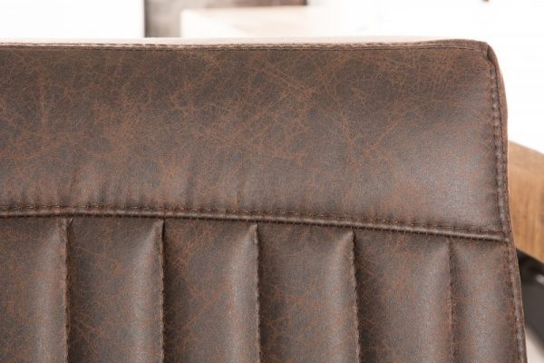Stolička Big George vintage hnedá