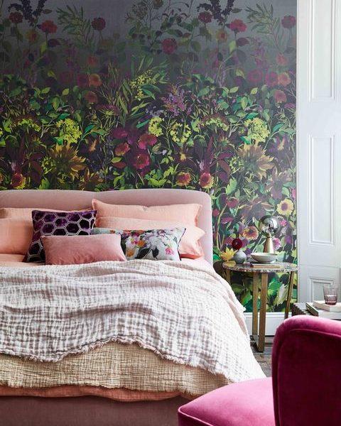 kvitnúca spálňa