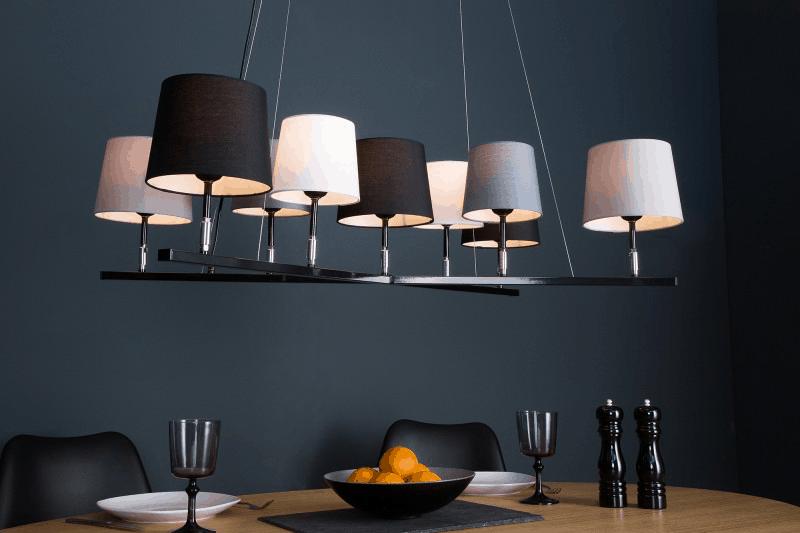 moderné osvetlenie nad jedálenský stôl