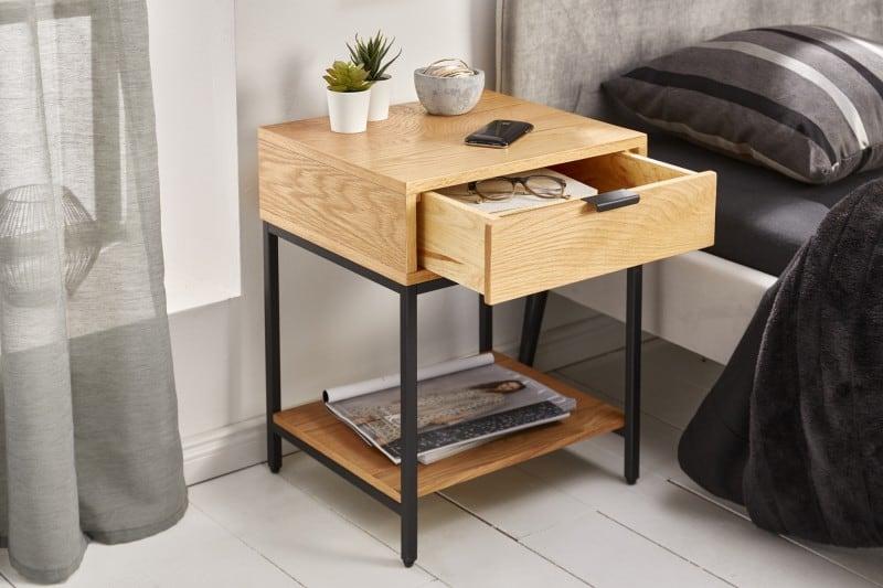 Nočný stolík Elements 40cm dub