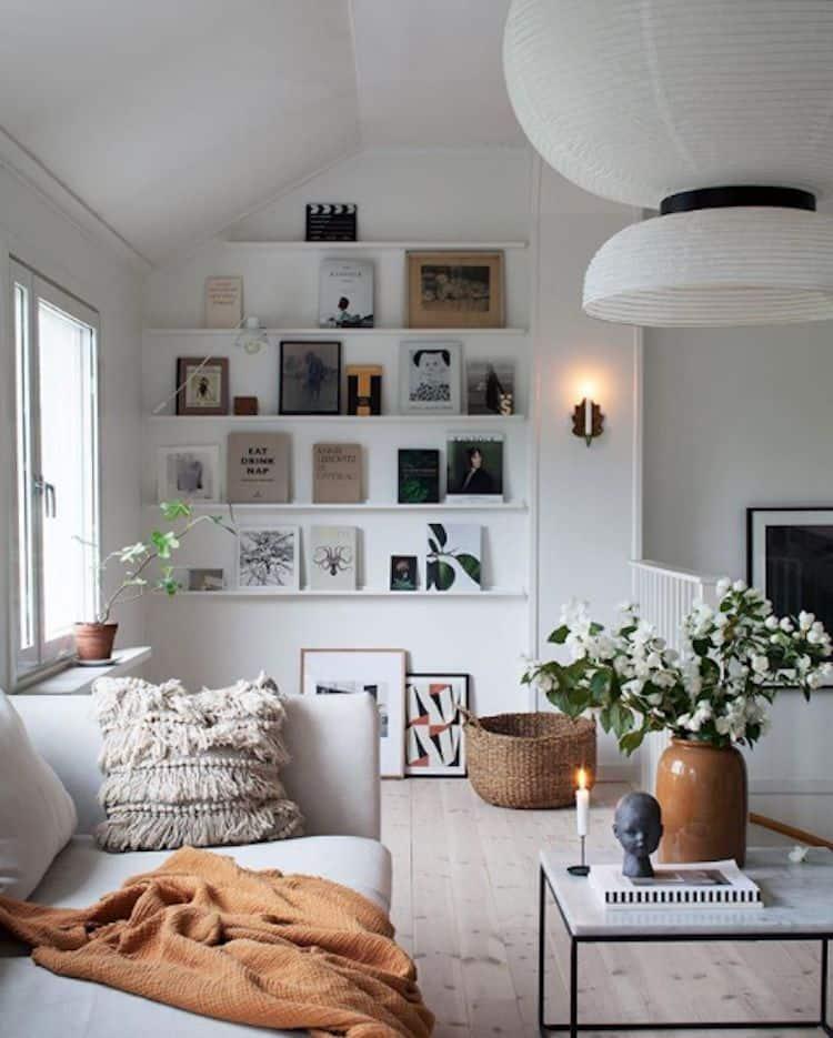 Škandinávsky interiér