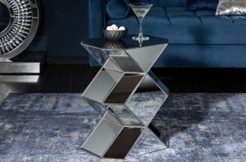 Konferenčný stolík Diamond 41cm sklo