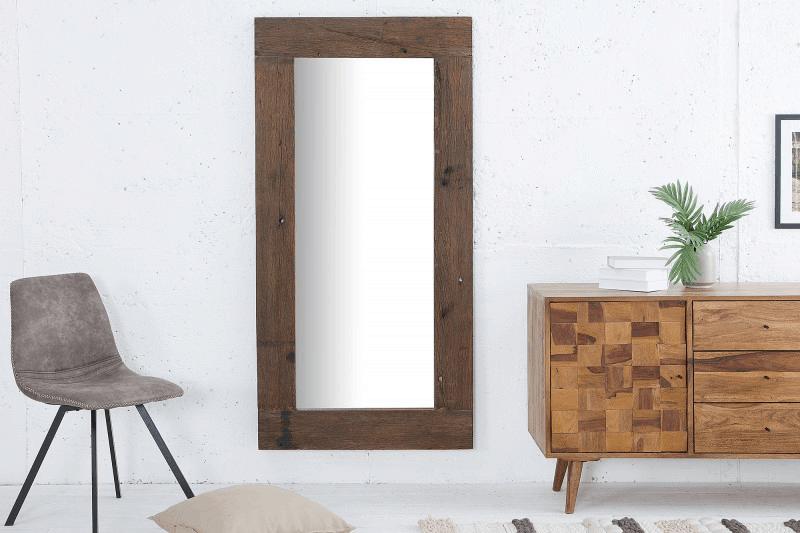 Zrkadlo s dreveným rámom 2
