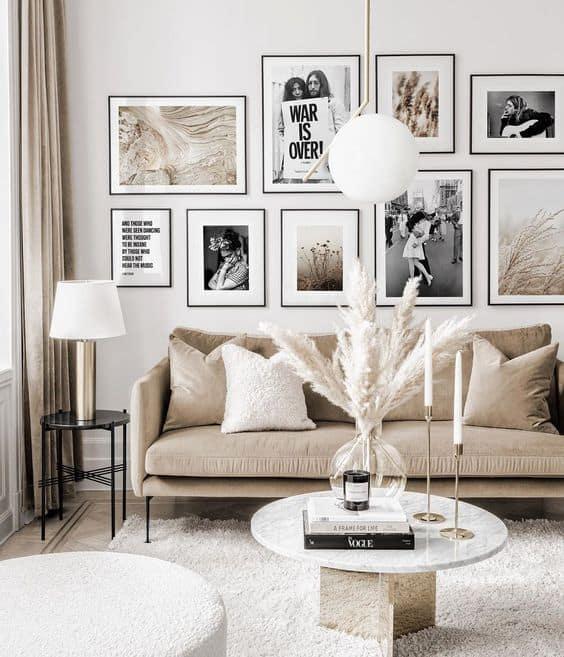 fotky ako dekoracie na stenu
