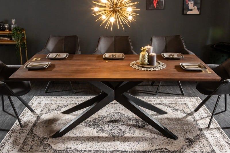jedalensky stol v industrialnom style