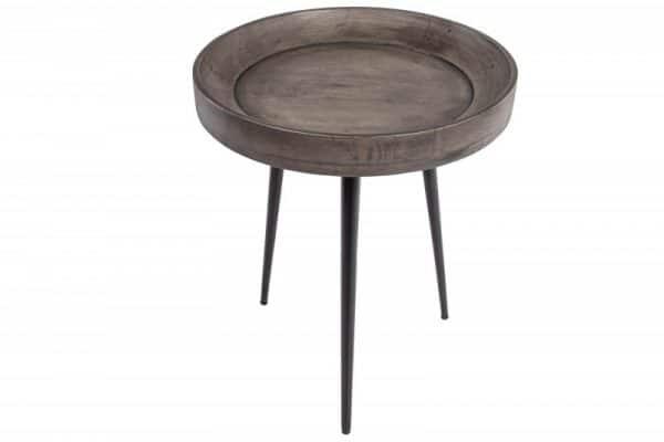 Konferenčný stolík Pure Nature 45cm sivý