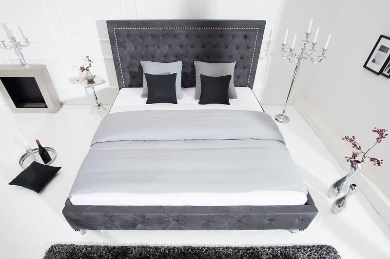 siva postel z mikrovlakna